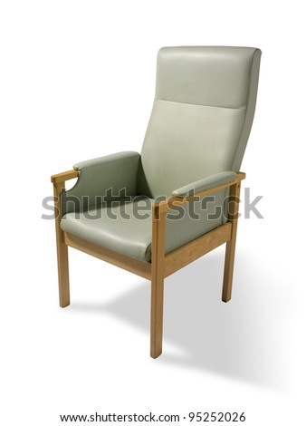 elderly persons chair - stock photo