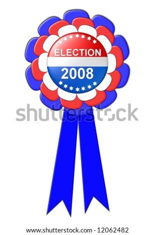 election 2008 - stock photo