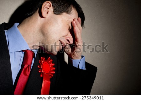 Election Failure - stock photo