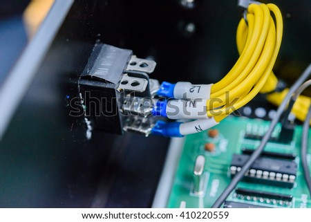 Electric board connect