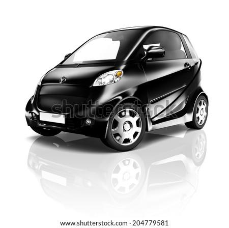 Electric Car - stock photo