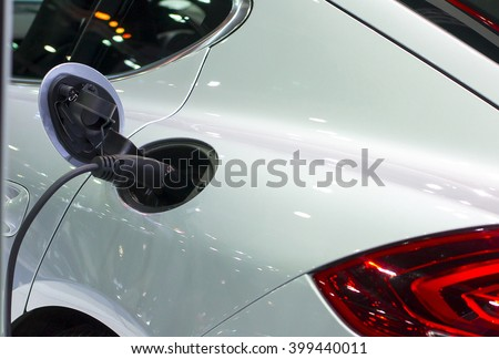 Electric Car Charger - stock photo