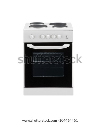 Electric cooker oven - stock photo