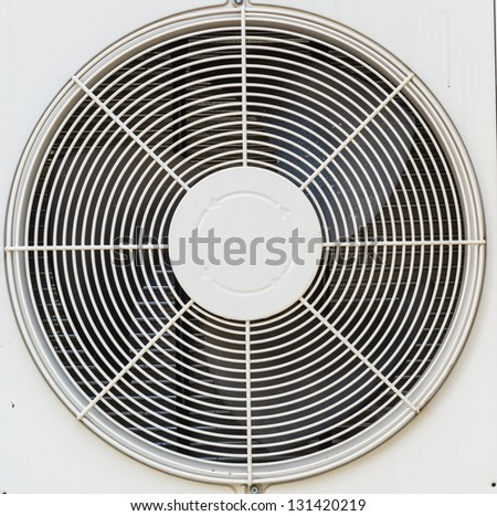 Electric fan aircondition