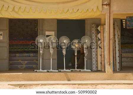 Electric fans in Senegal