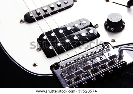 Electric Guitar - stock photo