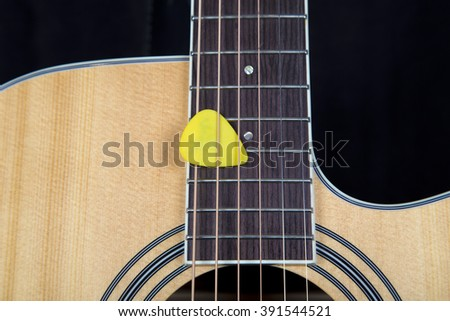 Electric guitar parts,guitar, acoustic, musical, music, instrument, background, detail, part, string, head, art, brown, classic, white, classical, closeup, wooden, sound,  audio, instruments, ukulele - stock photo