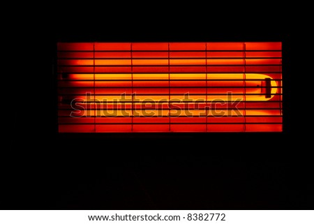 electric heater abstract background device hot - stock photo