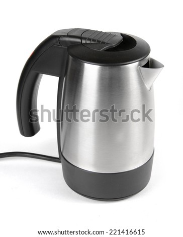 Electric kettle - stock photo