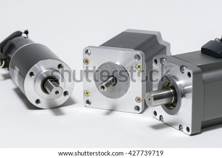 Stepping motor peripheral components stock photo 425996611 for Ac dc electric motors