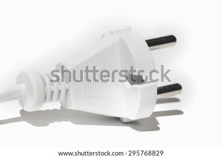 electric plug - stock photo