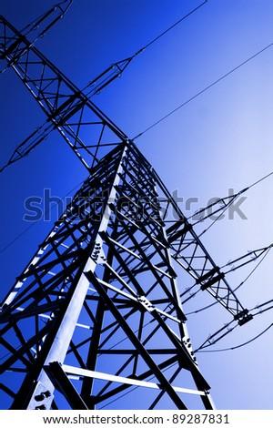 electric power - stock photo