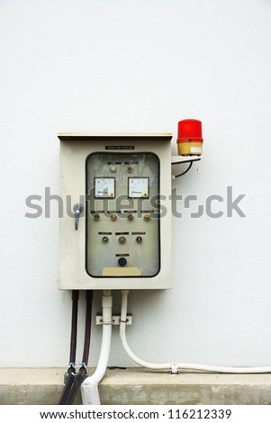 Electric power control panel