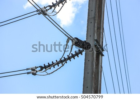 Electric power equipment in a substation