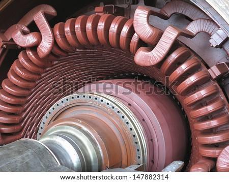 electric power generator steam turbine during stock photo Heavy Metal Band Logos Heavy Metal Art