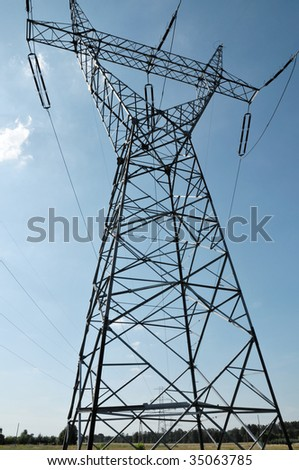 Electric power utility pole