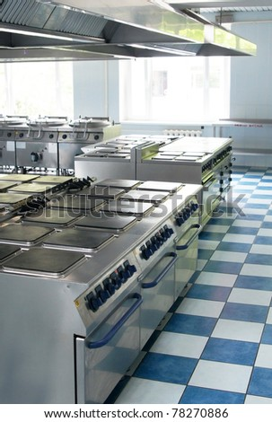 Electric stove - stock photo