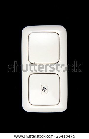 electric switch on dark background