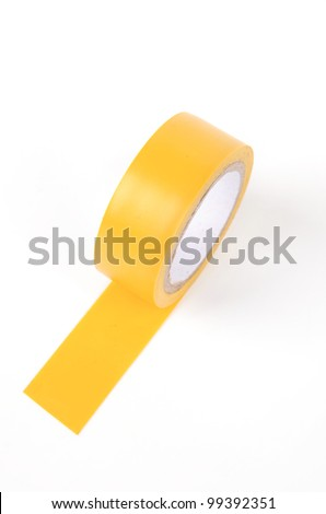 Electric tape - stock photo