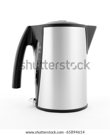 Electric Water Kettle - stock photo