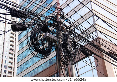 electrical cables in Asia
