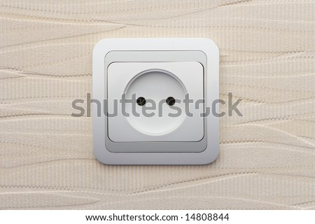 electrical connector - stock photo