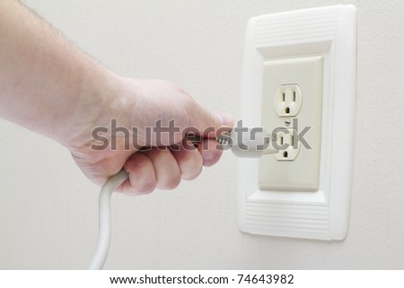 Electrical outlet - stock photo