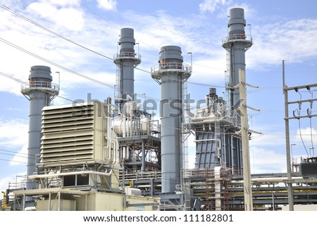 Electrical Power Station Plant With Design