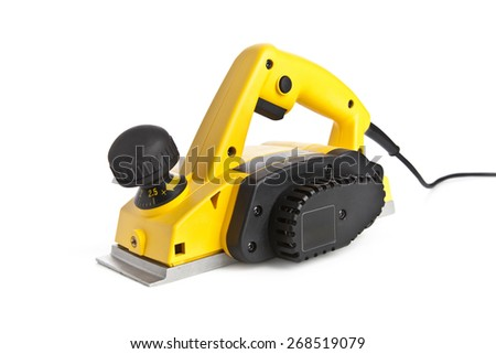 Electrical sander tool - stock photo