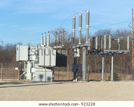 Electrical substation transformer