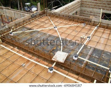 home electrical wiring diagrams pdf converter electrical wiring accessories fixed side concrete stock ... slab home electrical wiring diagrams