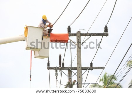 Bucket Truck Stock Images Royalty Free Images Amp Vectors