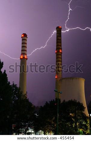 Electricity - stock photo