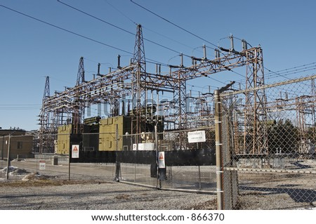 Electricity Distribution Transformer,
