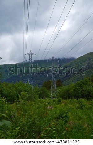electricity in mountains
