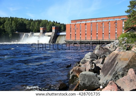 Electricity plant - Hydro electric power plant