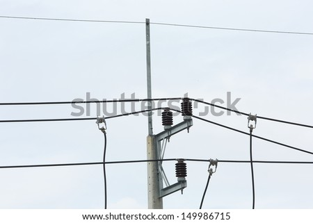 electricity post in thailand