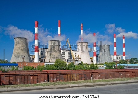 Electricity power generating plant
