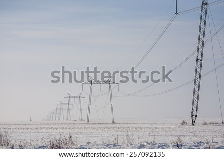 Electricity Pylon - stock photo