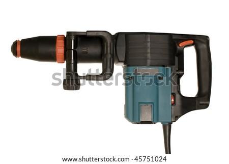 Electro drill - stock photo