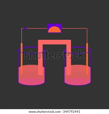 stock-photo-electrochemical-reaction-344792441 Icon Used For Warehouse Floor Plan on electrical plan for warehouse, floor plans retail, floor plan for transportation company, building plans for warehouse, floor plans garage,