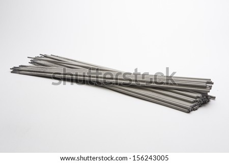 Electrodes for welding.
