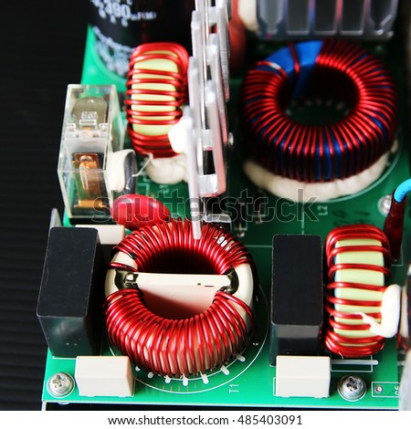 electronic board in hardware