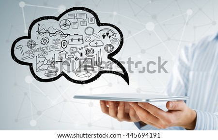 Electronic business concept