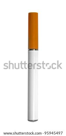 electronic cigarette on white  background - stock photo