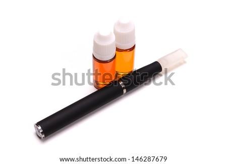 Electronic cigarettes - stock photo