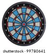 Electronic dartboard - stock photo