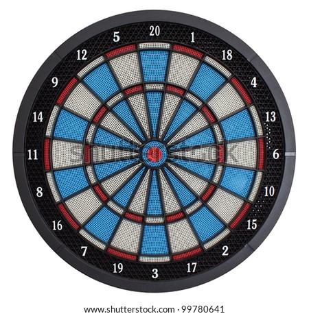 Electronic dartboard - stock photo