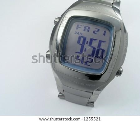 Electronic timer - stock photo