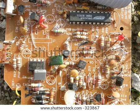 Electronical - stock photo